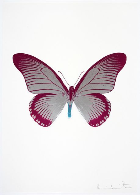Damien Hirst, 'The Souls IV - Silver Gloss - Fuchsia Pink - Topaz', 2010, Samuel Owen Gallery