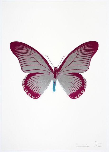 , 'The Souls IV - Silver Gloss - Fuchsia Pink - Topaz,' 2010, Samuel Owen Gallery