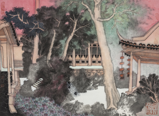 Guo Huawei, 2012, Painting, Ode to Art