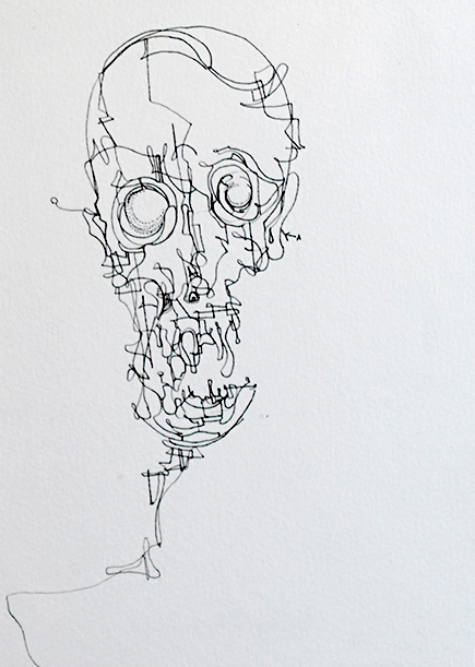 , 'Adult Skull,' 2017, AFA Gallery