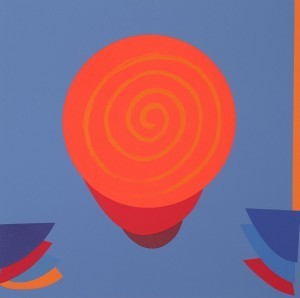 Sir Terry Frost, 'Orange and Blue Space', 1999, Hidden