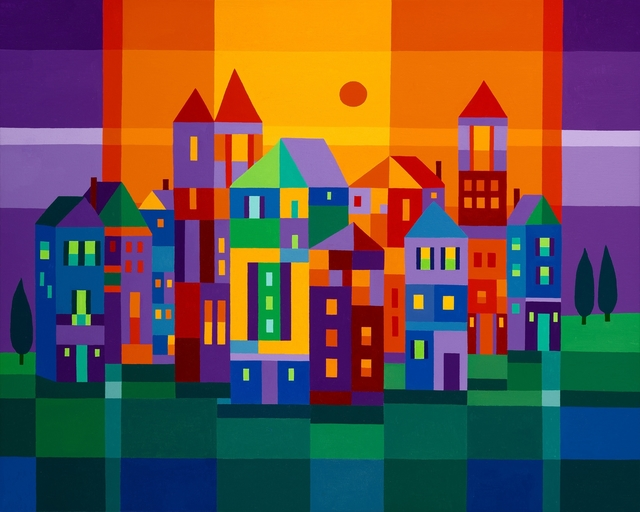 Michael Jernegan, 'Color Town', 2014, design art concepts