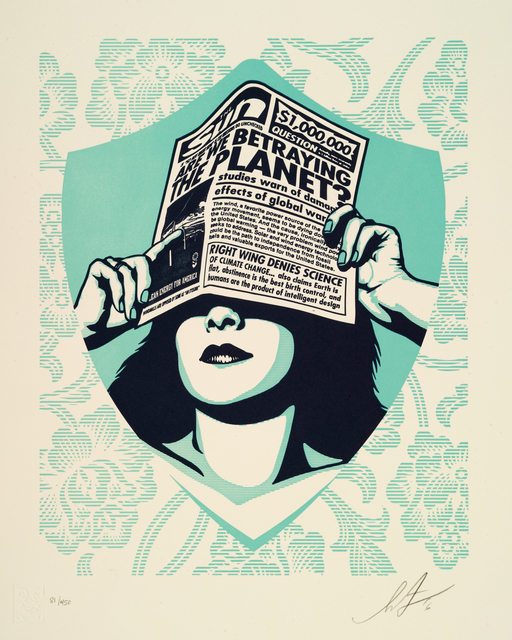 Shepard Fairey, 'Earth Crisis (Complete Set of 6) ', 2016, GCA Gallery