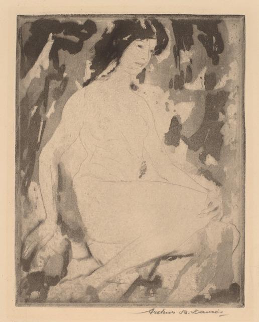 Arthur Bowen Davies, 'Iris', 1916, National Gallery of Art, Washington, D.C.