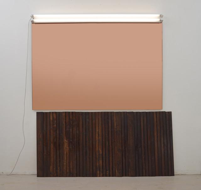 , 'Wandverkleidung #1 (Victor's),' 2013, Miguel Abreu Gallery
