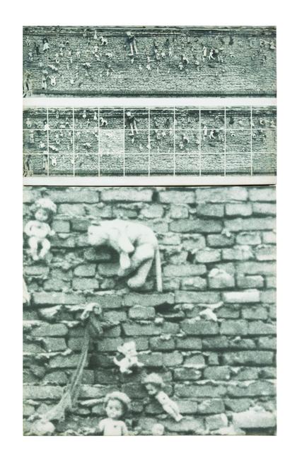 , 'Analisi del feticismo da un'immagine trovata. Variabile evidenziazione n°6,' 1977, OSART GALLERY