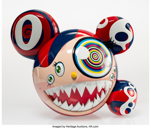 Takashi Murakami, 'Mr. Dob (Red)', 2016, Heritage Auctions