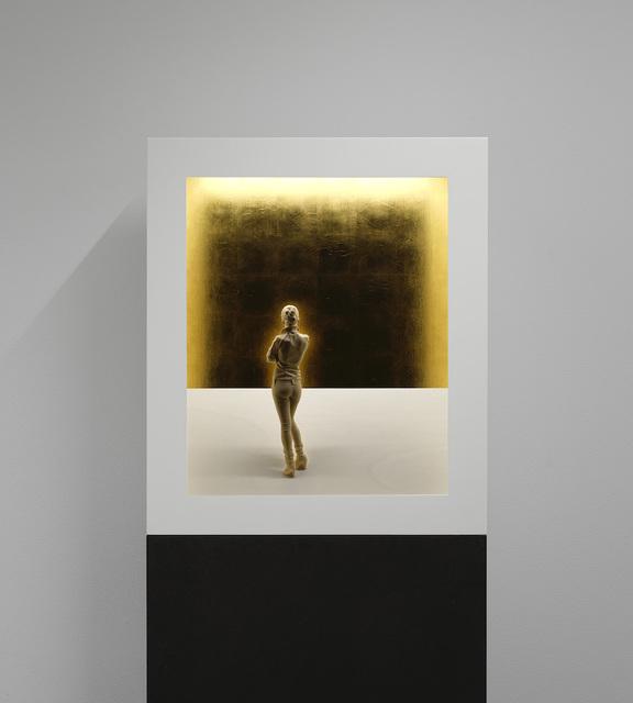 , 'Aura 4,' 2020, Liquid art system