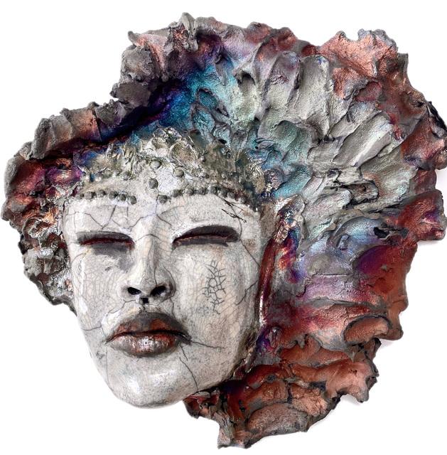 Trish Classe Gianakis, 'Anant Sundari', 2020, Sculpture, Raku Fired Ceramic, SHIM Art Network
