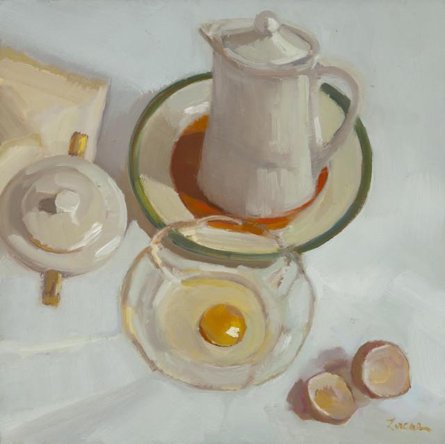 , 'Egg-centric Circles,' 2017, Grenning Gallery