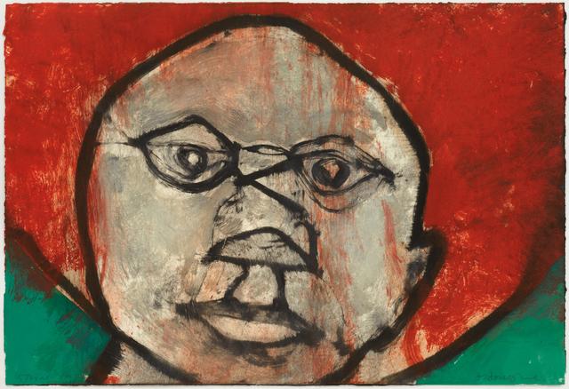 Hughie O'Donoghue, 'That Face IX', 2011, Marlborough