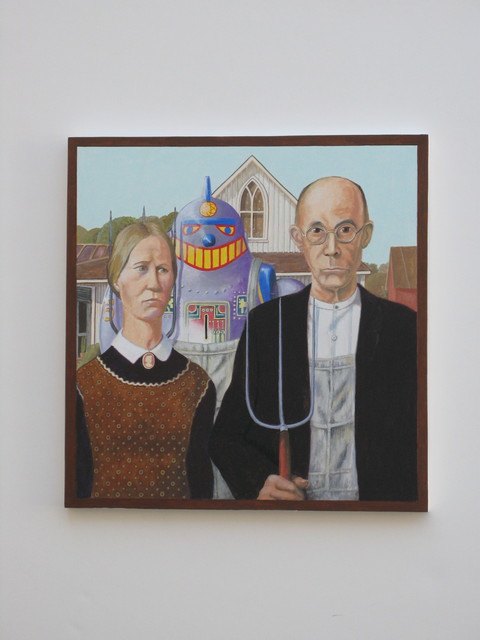 , 'American Gothic 1930, After Grant Wood,' ca. 2018, bG Gallery