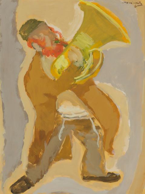 Mané-Katz, 'Musician', 1961, Painting, Gouache on paper, Doyle