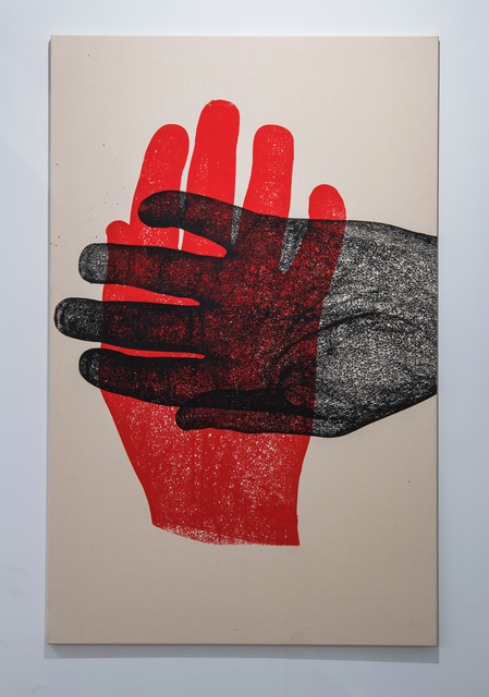 Richard Dupont, 'Biometry 254', 2019, Painting, Oil on canvas, Eduardo Secci Contemporary