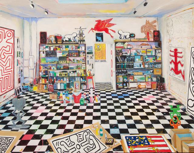 , 'Keith Haring's Studio, (New York City, 1988),' 2017, Modernism Inc.