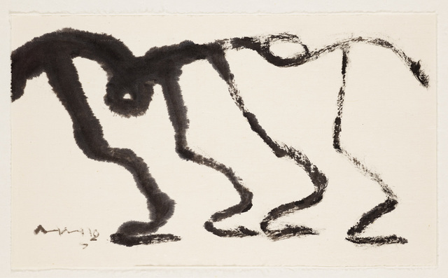 , 'Dancing Two People,' ca. 2000, Lehmann Maupin