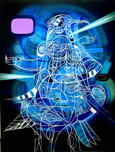 , 'Hermes Trismegestigus,' 2012, Jonathan LeVine Projects