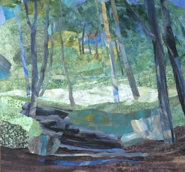 , 'Pine Trees in Tuscany,' 2016, Sladers Yard