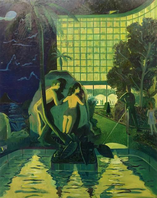, 'No Swimming After Dark,' 2018, 1969 Gallery