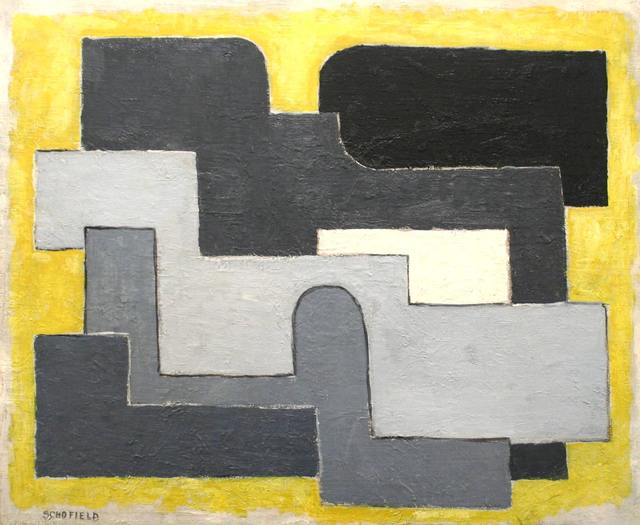 , 'Abstraction in Black and Gray,' ca. 1947, Richard Norton Gallery