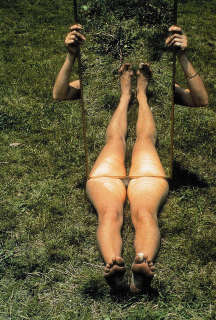 Joan Jonas, 'Mirror Piece I', 1969, 56th Venice Biennale