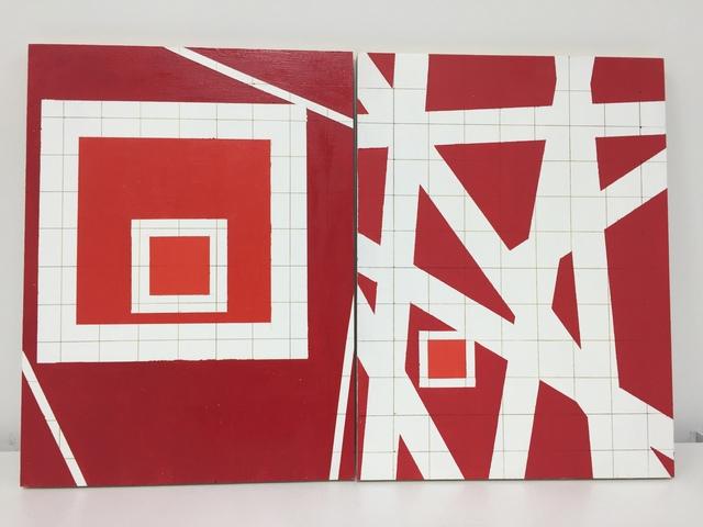 , 'Square 2,' 2002, SILAS VON MORISSE gallery