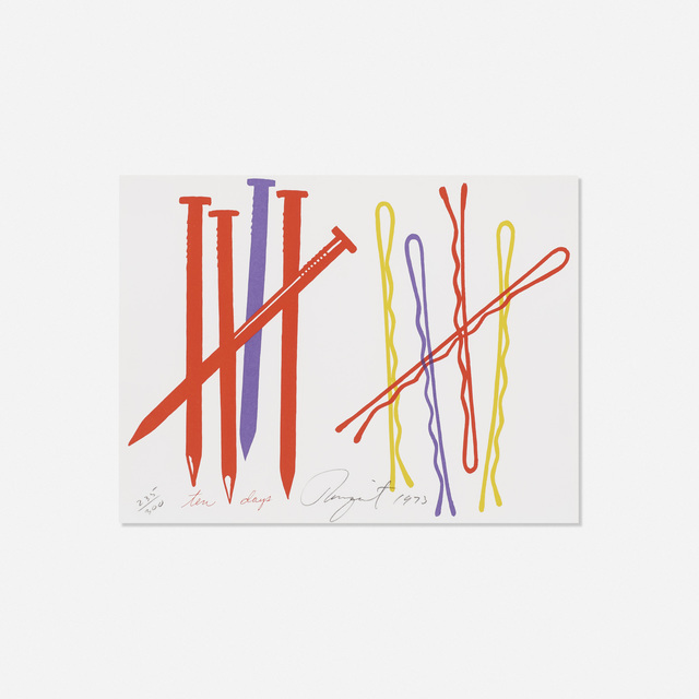 James Rosenquist, 'Ten Days (from The New York Collection for Stockholm)', 1973, Rago/Wright