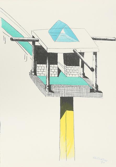 , 'Una torre nel deserto,' 1994, ammann//gallery