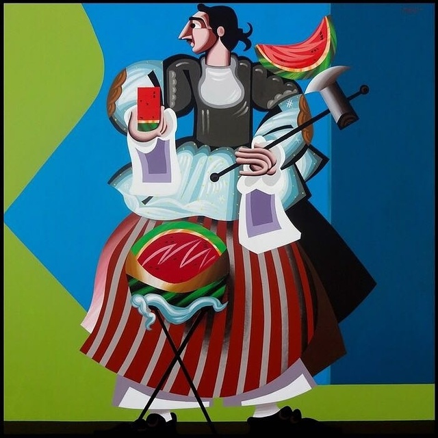 , 'Watermelon Vendor,' 2016, Artscoops