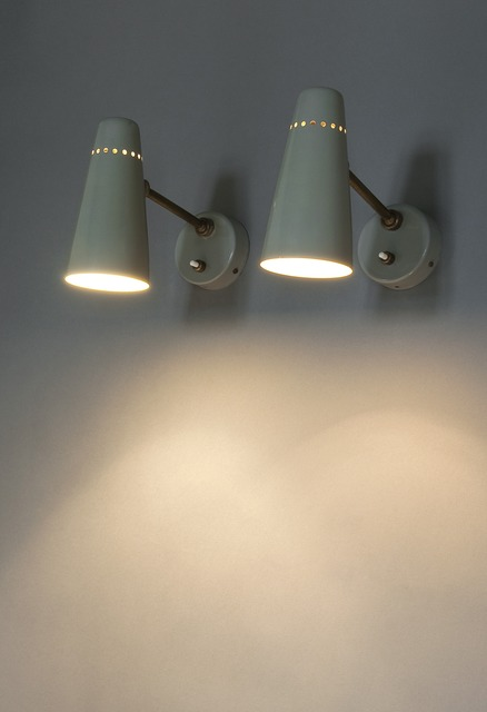 , 'Pair of sconces G14 Edition Pierre Disderot ,' 1950, Galerie Pascal Cuisinier