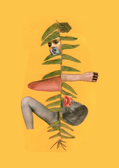 , 'OUTROS NOMES - OUTRXS DEUSXS, Estudo para painel #3,' 2018, RV Cultura e Arte