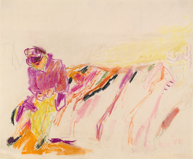 , 'SITTING ON THE GREEK BLANKET,' 1960, Jerald Melberg Gallery