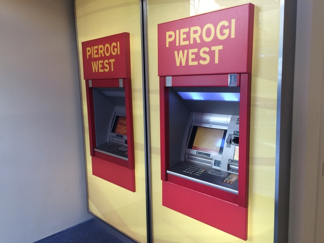 , 'Pierogi West ATM Vestibule,' 2016, Pierogi
