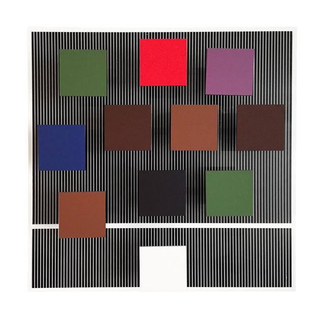 , 'Carré Blanc Inférieur,' 1995, RGR+ART
