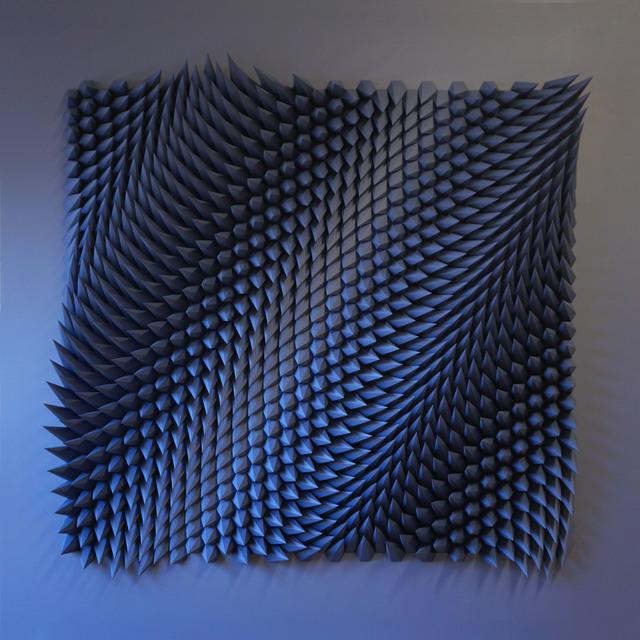 , 'Stagger (Indigo),' 2017, Thomas Riley Studio