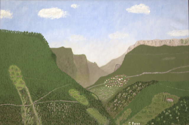 , 'Mountain Village,' , C. Grimaldis Gallery