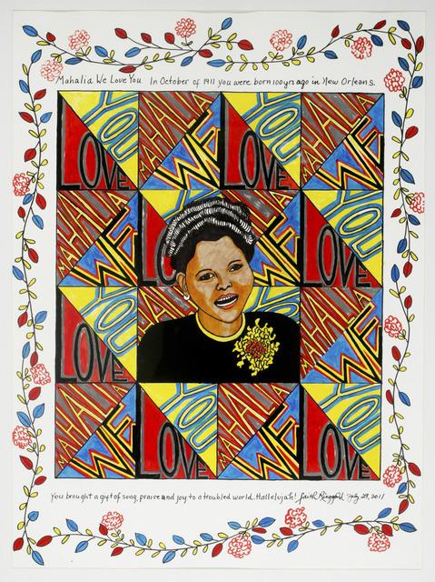 Faith Ringgold, 'Mahalia We Love You', 2011, ACA Galleries