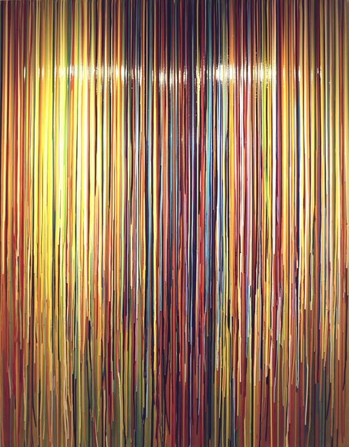 , 'ZUBEGINNLIEGTDIEZEIT ZUUNSERENFUESSEN,' 2007, The Columns Gallery