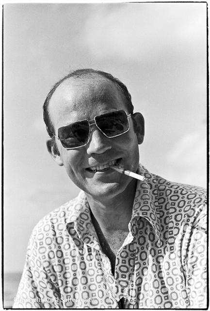 Al Satterwhite, 'Hunter S. Thompson in Cozumel', 1974, Photography, Gelatin silver print, PDNB Gallery
