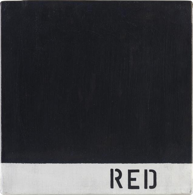Radomir Damnjonoviæ-Damnjan, 'Misinformation - Red', 1972 -2012, ArtRite