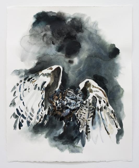 Elisa Johns, 'Owl', 2018, Morgan Lehman Gallery