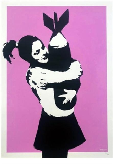 Banksy, 'Bomb Hugger', 2003, 5ART GALLERY