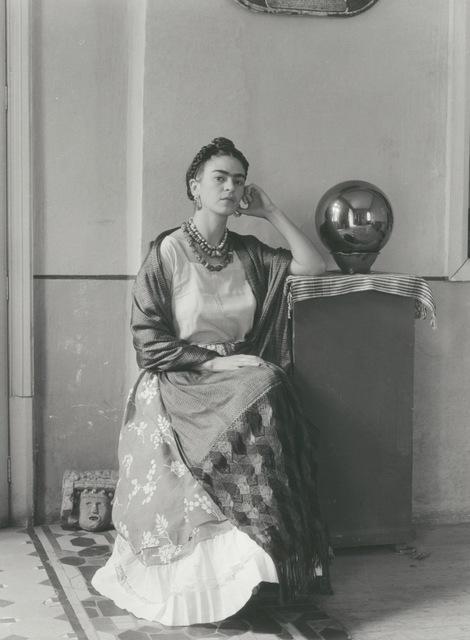 , 'Frida Seated With Globe,' 1938, Matthew Liu Fine Arts