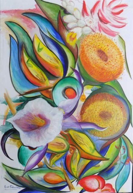 Luz Sánchez, 'Aromas del Bosque', 2018, ACCS Visual Arts