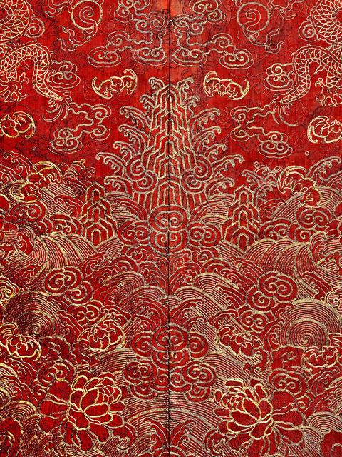 , 'Festival Robe (detail),' 19th century-Daoguang (1821–50)–Xianfeng (1851–61) period, The Metropolitan Museum of Art