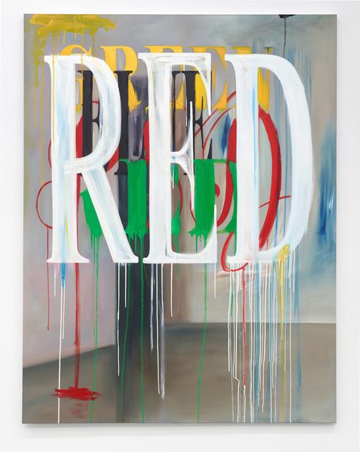 , 'Cheesakhwa –Color Painting Colon 445,' 2017, Philipp von Rosen Galerie