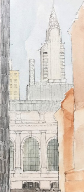 , 'Grand Central and Chrysler Building, New York ,' 2009, Andra Norris Gallery
