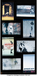 Set of Eight Postcards