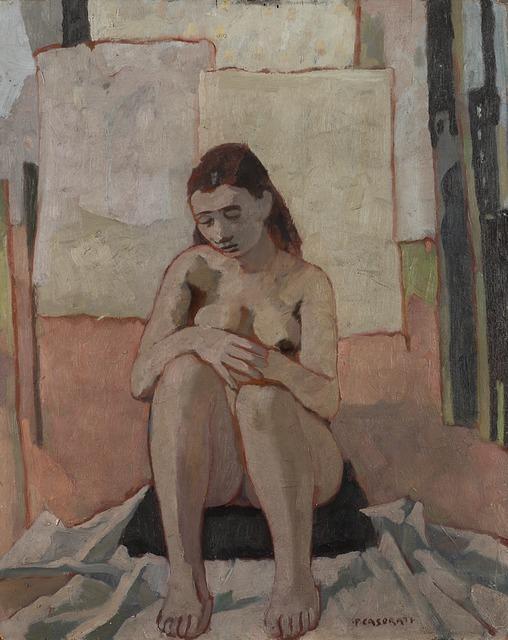 Felice Casorati, 'Nudo seduto', 1942, Il Ponte