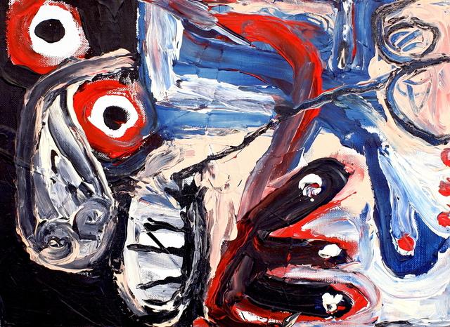 Joji Nakamura, '「泳ぐ」 (Swimming)', 2018, Painting, Acrylic on canvas, CLEAR GALLERY TOKYO